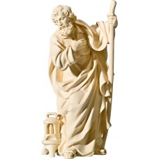 St. Joseph (without base) 18 cm Serie Natural maple