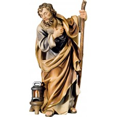 St. Joseph (without base) 18 cm Serie Colored maple