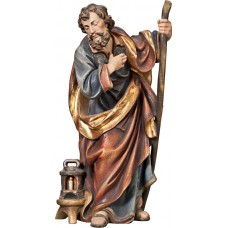 St. Joseph (without base) 50 cm Serie Real Gold antique