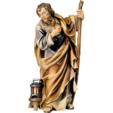 St. Joseph (without base) 10 cm Serie Colored maple