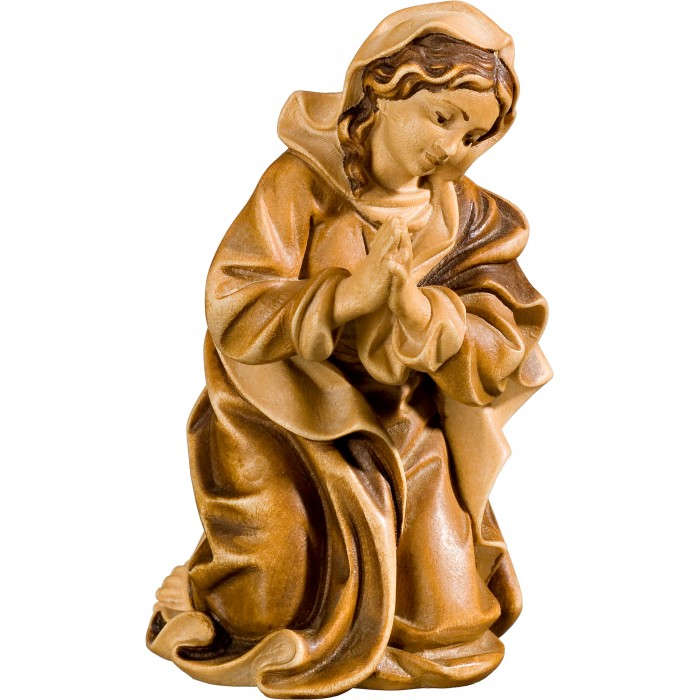 Mary (without base) 40 cm Serie Stained+tones maple