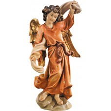 Annunciation Angel left 12 cm Serie Colored maple