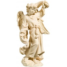 Annunciation Angel left 18 cm Serie Natural maple