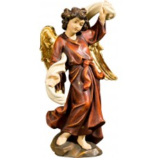 Annunciation Angel left 50 cm Serie Real Gold new
