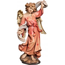 Annunciation Angel left 50 cm Serie Colored linden