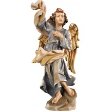 Annunciation Angel right 12 cm Serie Colored maple