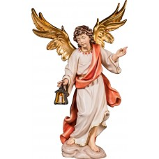 Angel with lantern 40 cm Serie Colored maple