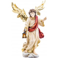 Angel with lantern 27 cm Serie Real Gold new