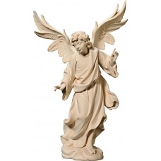 Annunciation Angel on cloude 27 cm Serie Natural maple