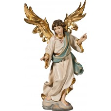 Annunciation Angel on cloude 27 cm Serie Real Gold new