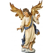 Annunciation Angel on cloude 50 cm Serie Real Gold antique