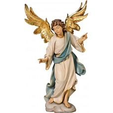 Annunciation Angel on cloude 50 cm Serie Colored linden