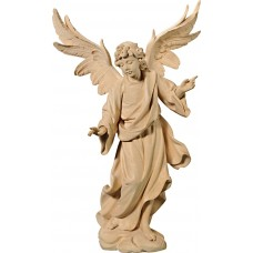 Annunciation Angel on cloude 75 cm Serie Natural linden