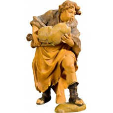Boy with bagpipe (without base) 50 cm Serie Antique