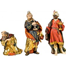 Holy 3 Kings (without base) 32 cm Serie Real Gold new