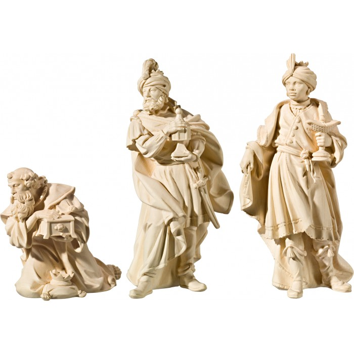 Holy 3 Kings (without base) 40 cm Serie Natural maple