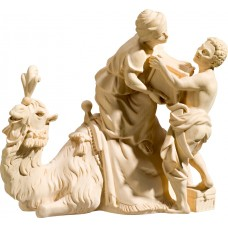 Camel loading with servants 18 cm Serie Natural maple