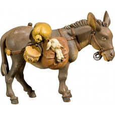 Donkey with baggage 50 cm Serie Antique