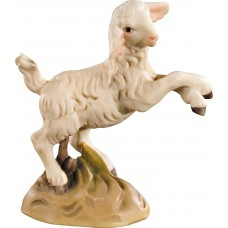 Lamb jumping 10 cm Serie Colored maple