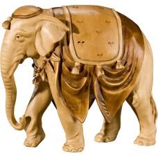 Elephant 40 cm Serie Stained+tones maple