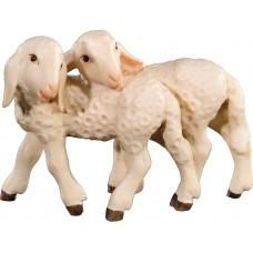 Lamb group 12 cm Serie Colored maple