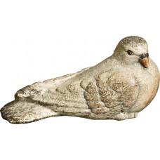 Pigeon perching 50 cm Serie Antique