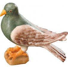 Pigeon standing 12 cm Serie Colored maple