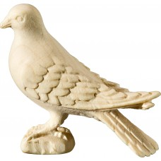 Pigeon standing 18 cm Serie [3,5x3,9cm] Natural maple