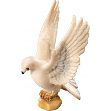 Pigeon flying 12 cm Serie Colored maple