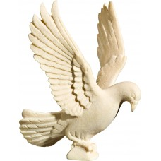 Pigeon flying 18 cm Serie [5,7x4,3cm] Natural maple
