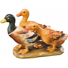 Duck group 12 cm Serie [3,7x5,7cm] Colored maple