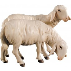 Double sheep 12 cm Serie Colored maple