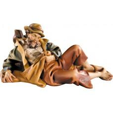 Herdsman lying 10 cm Serie Colored maple