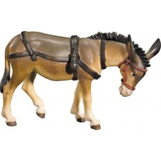 Donkey for cart 12 cm Serie Colored maple