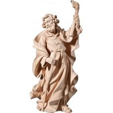 St. Joseph for Flight to Egypt 70 cm Serie Natural linden