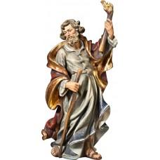 St. Joseph for Flight to Egypt 70 cm Serie Real Gold antique