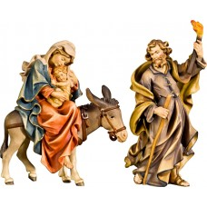 Flight to Egypt 12 cm Serie Colored maple