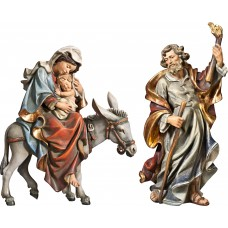 Flight to Egypt 70 cm Serie Real Gold antique