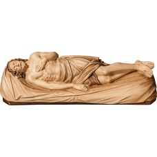 Jesus for Holy Sepulcher 27 cm Serie Stained+tones maple