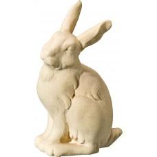 Rabbit sitting 18 cm Serie [5,1x2,8cm] Natural maple