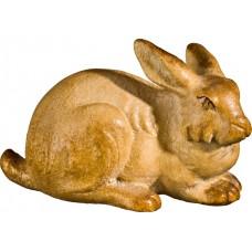 Rabbit lying 27 cm Serie Stained+tones maple