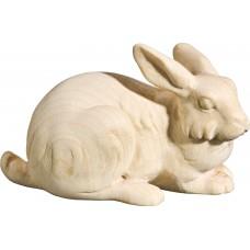 Rabbit lying 18 cm Serie [2,7x4,2cm] Natural maple