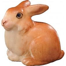 Rabbit little lying 12 cm Serie Colored maple