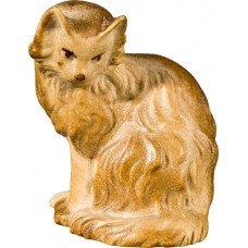Cat sitting 27 cm Serie Stained+tones maple