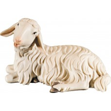 Sheep lying 12 cm Serie Colored maple