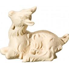 Goat kid lying 18 cm Serie Natural maple