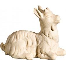 Goat kid perching 18 cm Serie Natural maple
