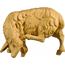 Sheep scratching 27 cm Serie Stained+tones maple