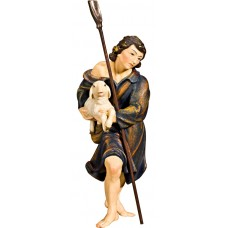 Herdsman with lamb and shovel (without base) 40 cm Serie Real Gold new
