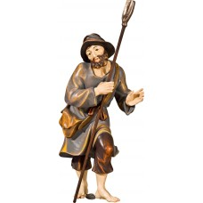 Herdsman with shovel (without base) 40 cm Serie Real Gold new